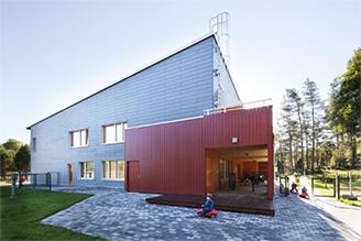 Passivhus förskolan Skogslunden