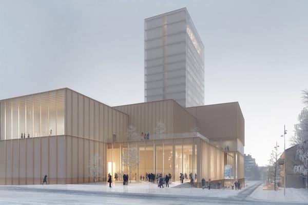 Världsunika kulturhuset i Skellefteå
