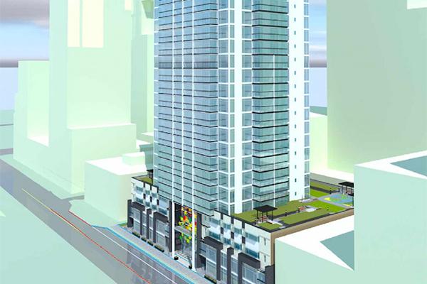 Två nya skyskrapor i Maple Ridge, Vancouver