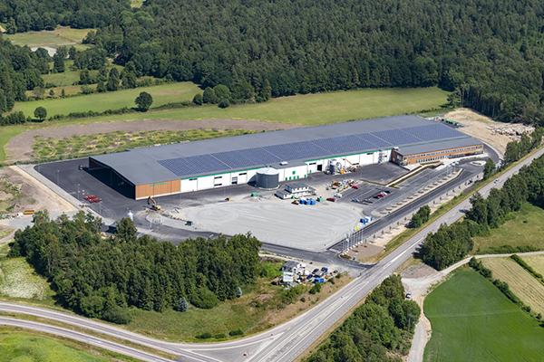 Nybyggnad av husfabrik i Varberg