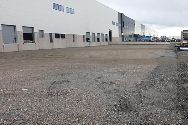 Tillbyggnad av industrihus i Eskilstuna
