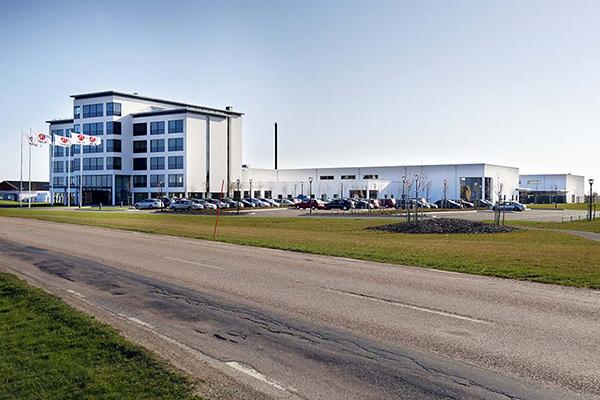Nybyggnad av industri- och lagerbyggnad i Höganäs