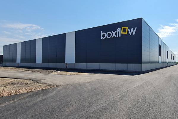 Nybyggnad av logistikcentral i Klippan, Boxflow Månstorp 3:2