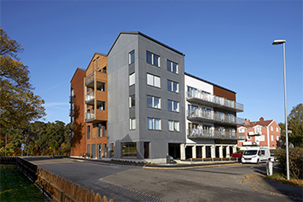 Flerfamiljshus, Kalmar