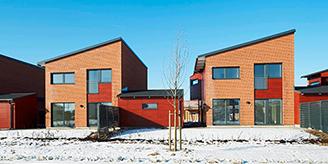 Gruppbyggda småhus