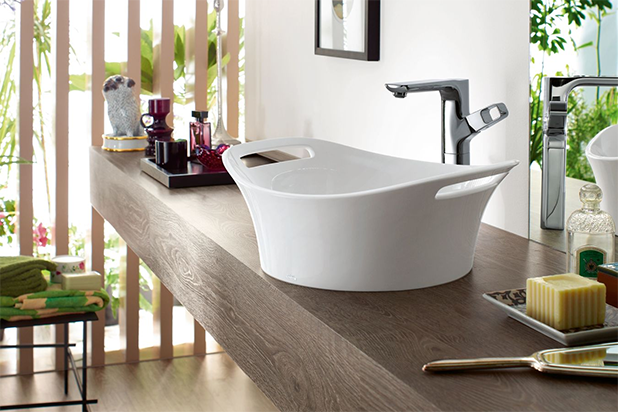 AXOR wash basins and bath tubs