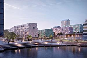 Byggstart för Lindholmshamnen