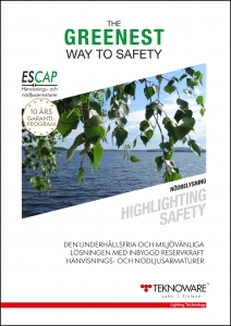 The greenest way to safety